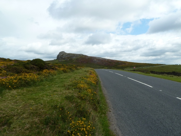 The road to Haytor