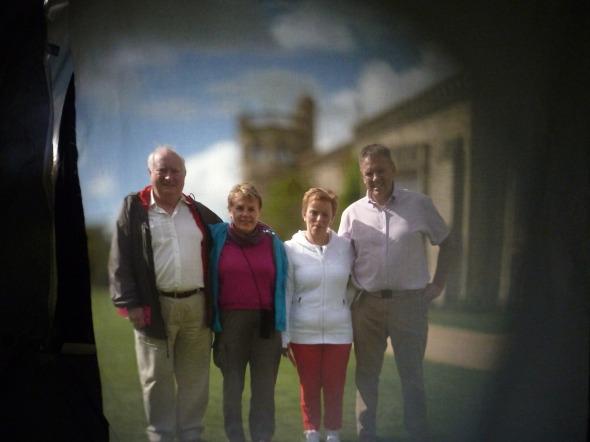 Allan, Barbara, Linda, Nik
